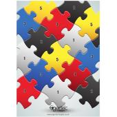 Egertec blason de jeu Color Puzzle