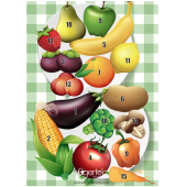 Egertec blason de jeu Fruits et légumes