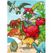 Egertec blason de jeu Dinosaure