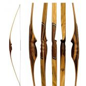 Arcs traditionnels longbow de chasse